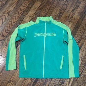 Vintage Patagonia Green Full ZIP Men's xl